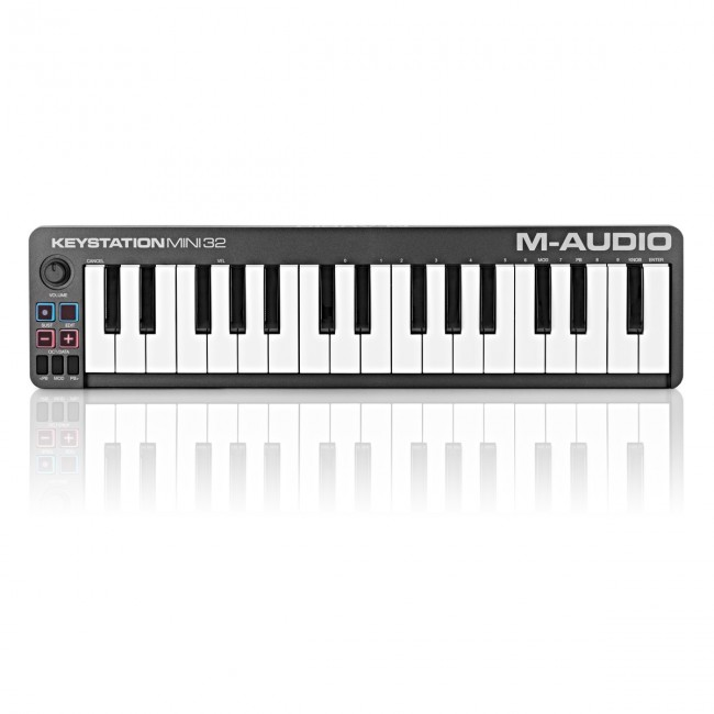 M-Audio KEYSTATIONMINI32II   Controlador MIDI/USB de 32 mini teclas