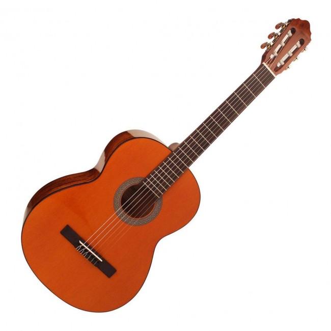 CORT AC100DX-YT | Guitarra Clasica Acustica Yellow Tint