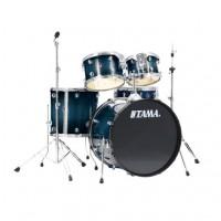 Tama BP-TM-RLI52KH4CB | Batería Acústica Rhymate de 5 Cuerpos Azul Translucido