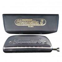HOHNER M25001 | Armónica Cromática Serie Chrometta 8 32 Voces