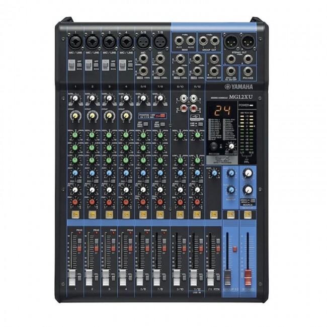 YAMAHA MG12XU | Mezclador mixer de 12 canales