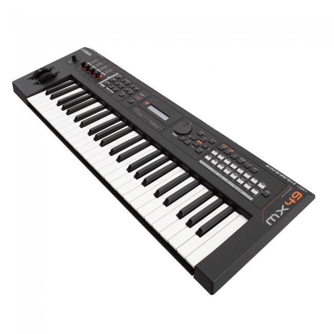 YAMAHA MX49BK | Sintetizador de Música Negro